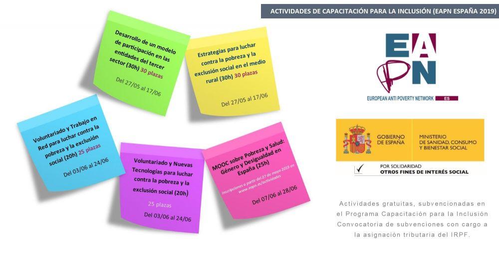 MOOC sobre Voluntariado y Nuevas Tecnologías para luchar contra la pobreza y la exclusión social (20h)