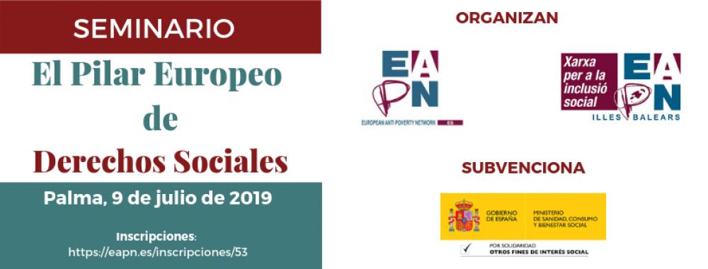 Palma de Mallorca_09/07/2019_Seminario sobre el Pilar Europeo de Derechos Sociales