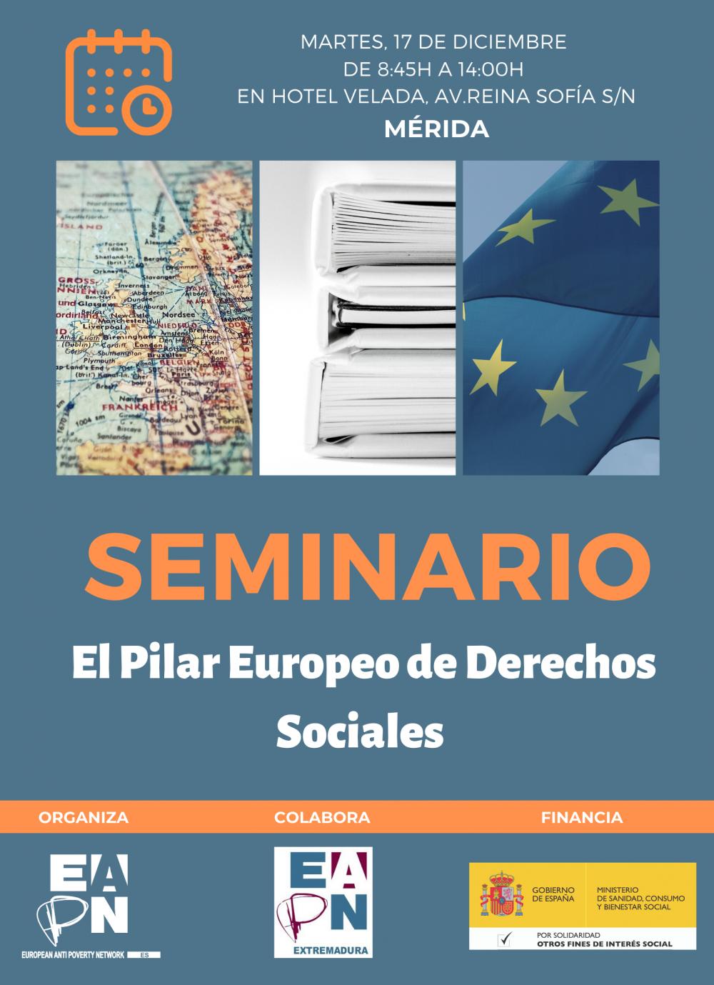 """Mérida_17/12/2019_Seminario: """"El Pilar Europeo de Derechos Sociales"""""""